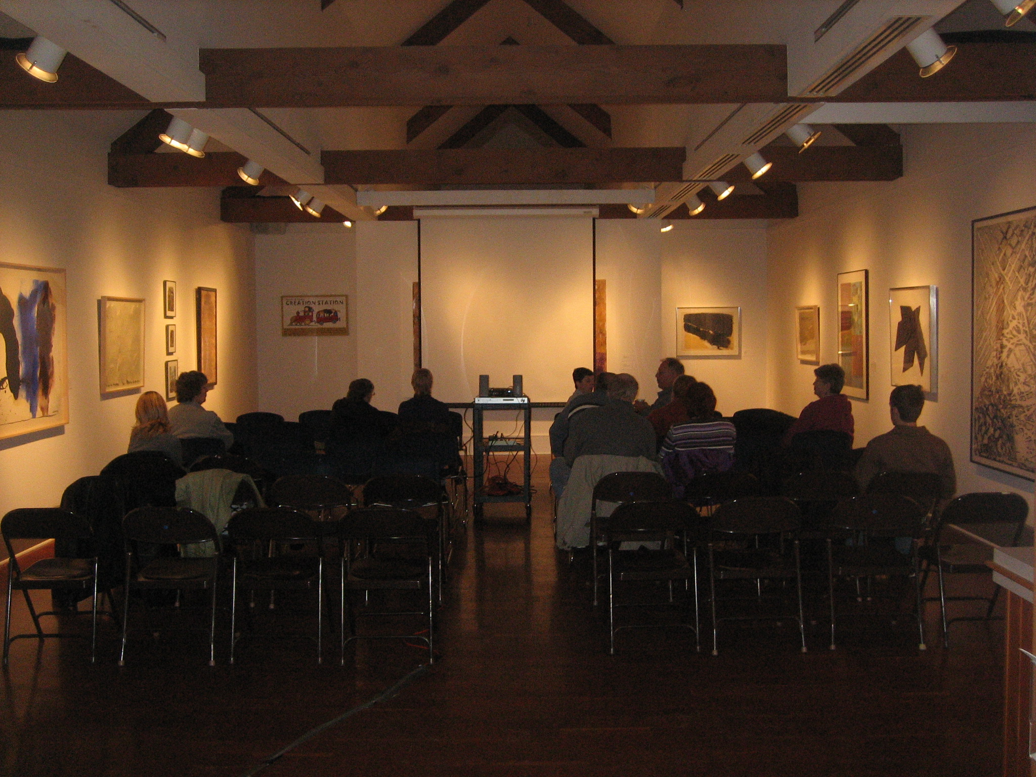 Screening at the Noyes Museum