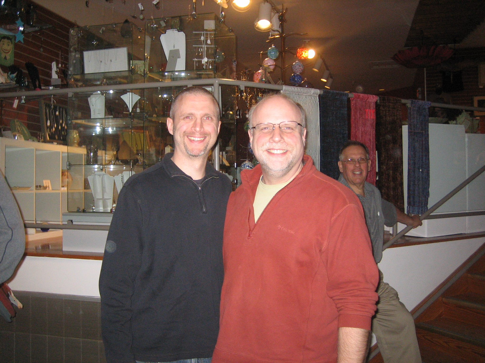 Martin Binder with Festival Director Tom Sims